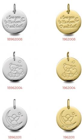 b0693c7ff6bf ... medallas comunion oro plata ...