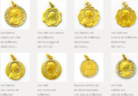 medallas brillantes
