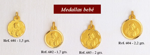 medallas angel guarda