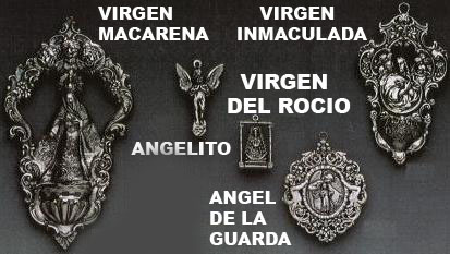 medallas virgenes